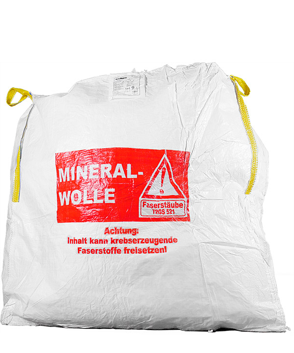 big bag mineralwolle kmf 3xl 2 4m 1000kg jetzt g nstig kaufen. Black Bedroom Furniture Sets. Home Design Ideas